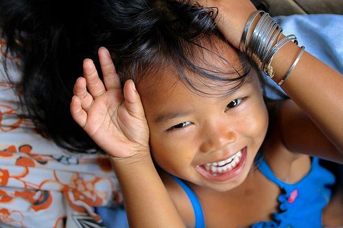 カンボジアの子供たちの生きる力